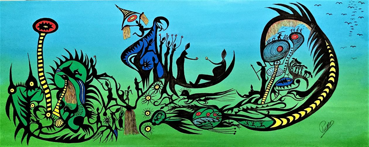 Puma Freytag, artiste peintre, marionnettiste